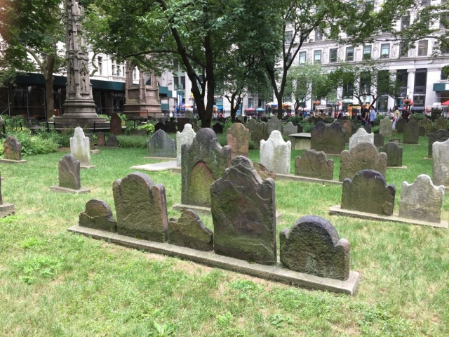 Cemetery in New York