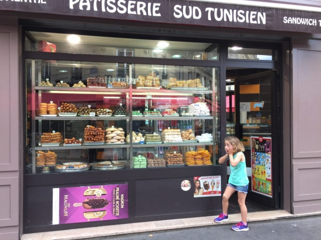 Pastries in Paris