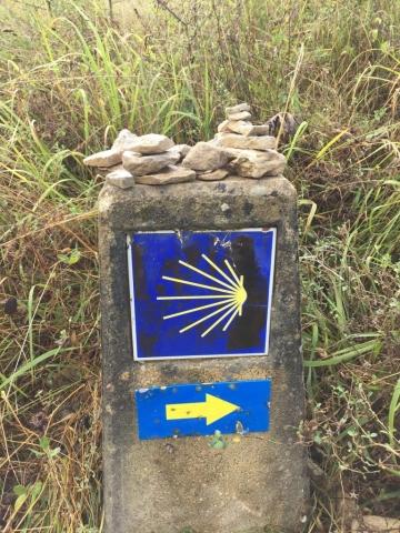 A way marker