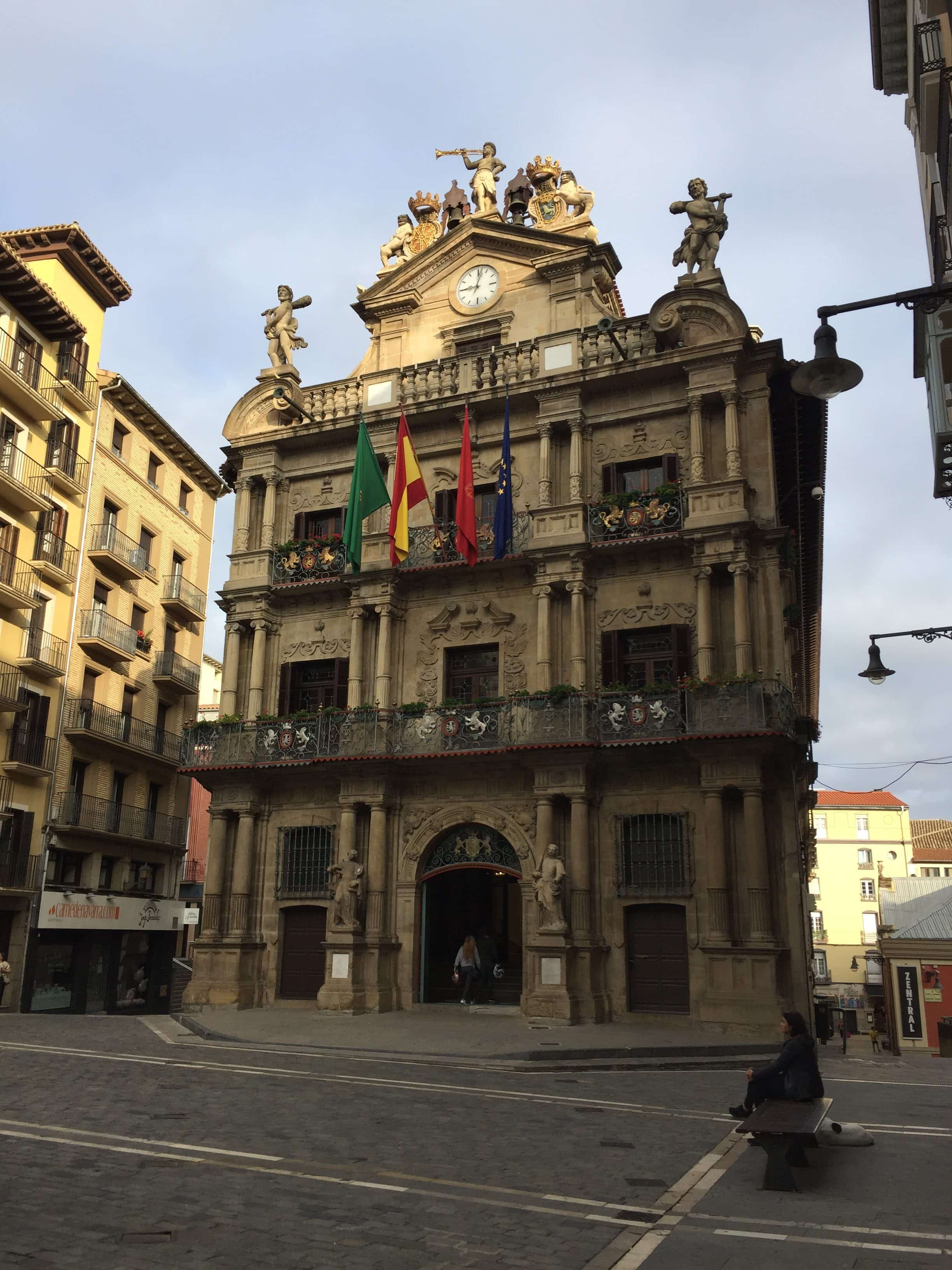 Beautiful building in Pamplona
