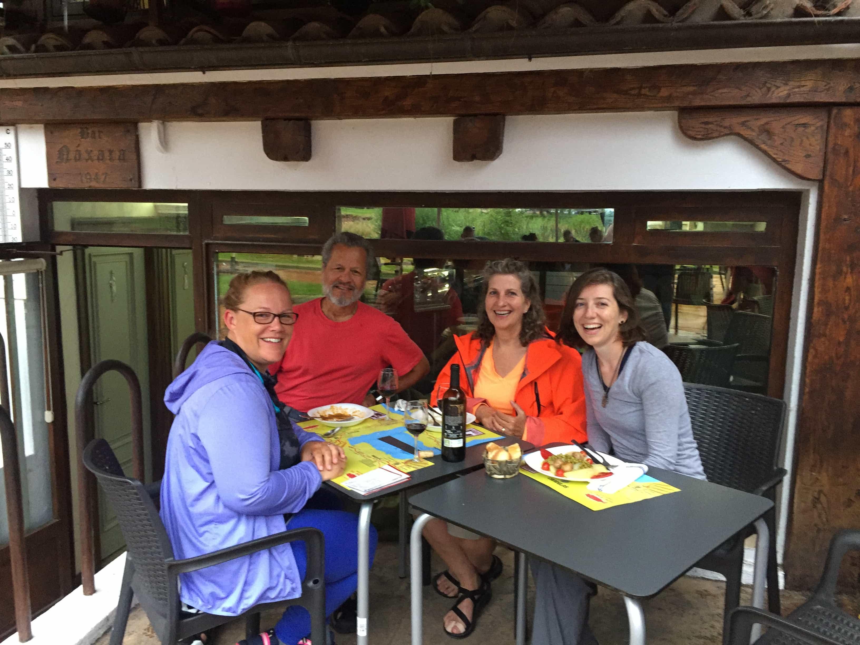 Me, Linda and Feena and Otto!