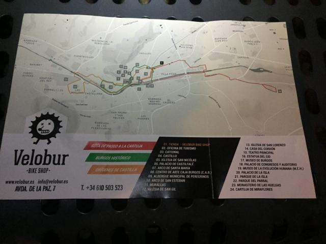 Velobur: bike rental Burgos