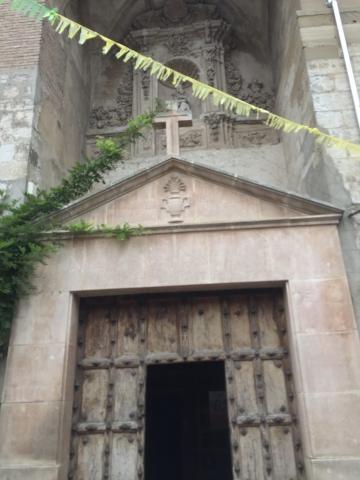 A church door