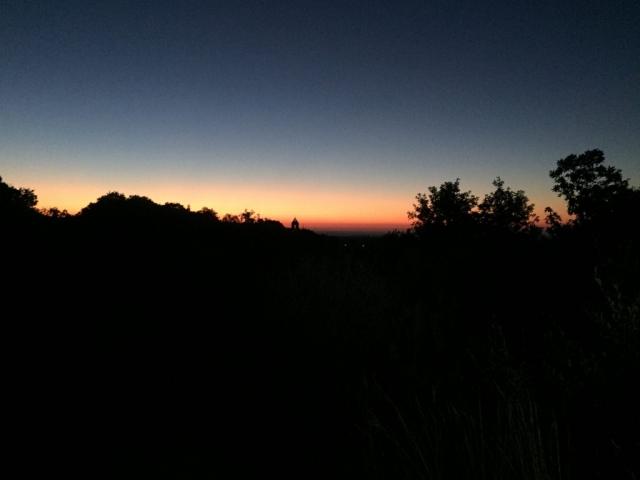 Incredible sunrise