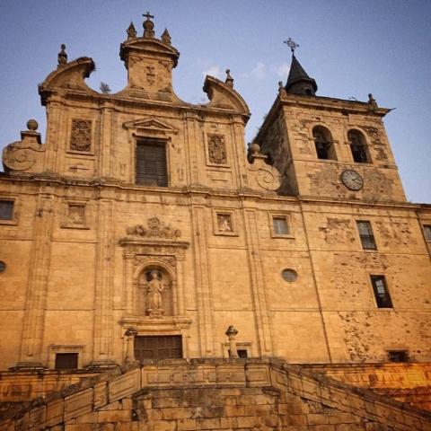 Cathedral in Villafranca