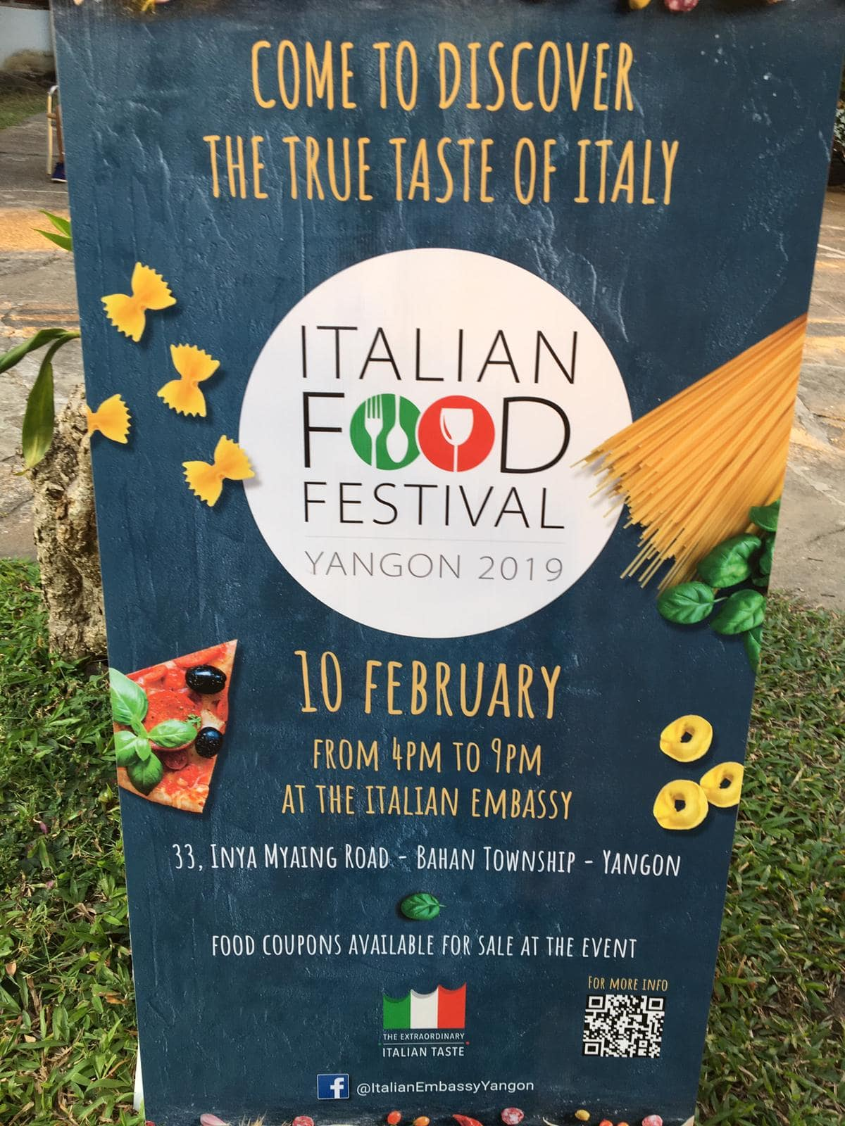 Italian food festival at the Italy Embassy