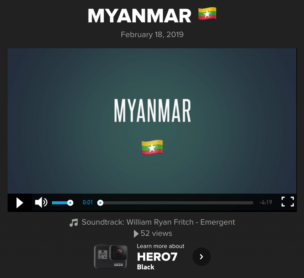 Click to watch video of our Myanmar Trip