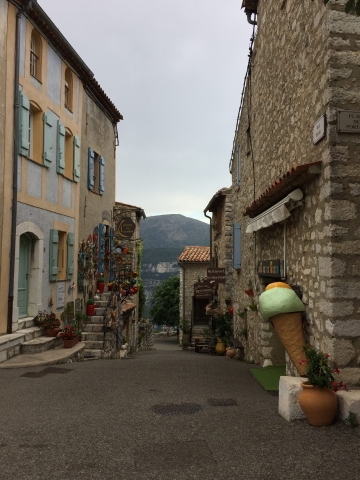 Tiny little village called Gourdon