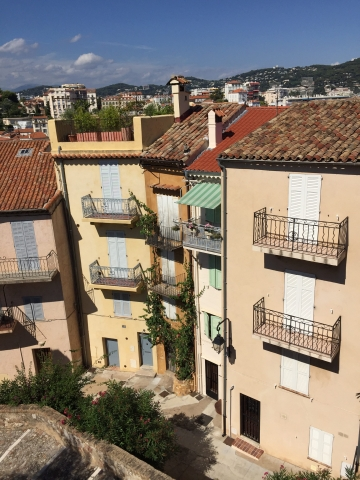Cute little houses in Cannes