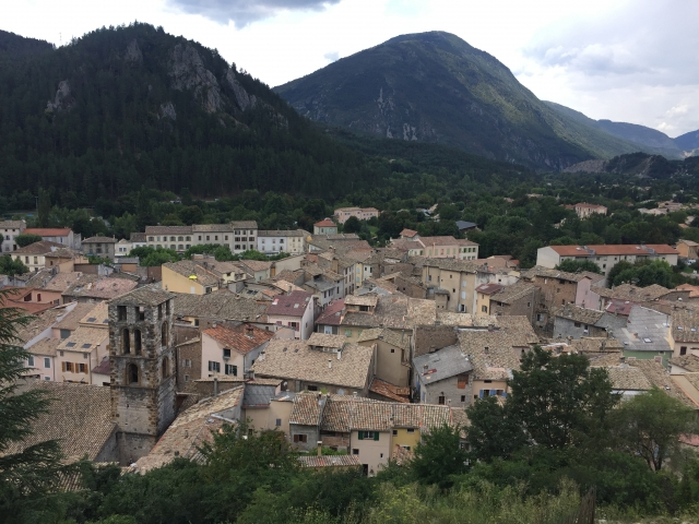Views of Castellane from on high