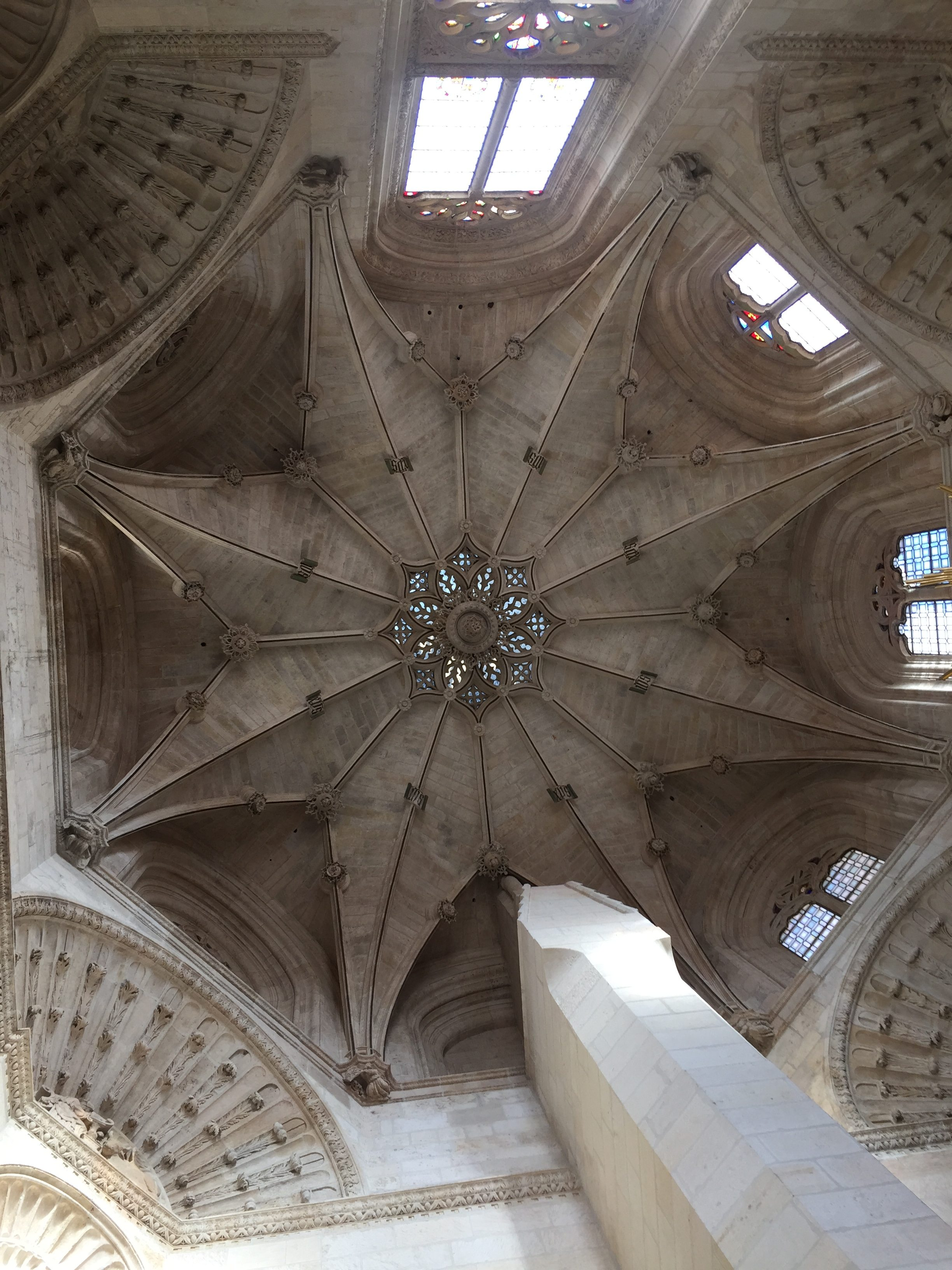 Inside the Cathedral - roof