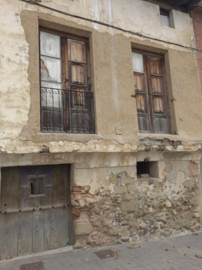 Building falling apart