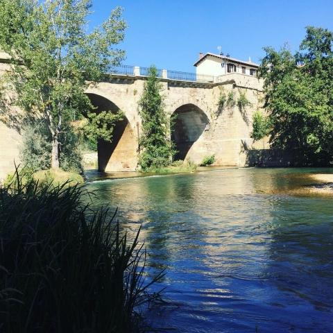 A stunning river