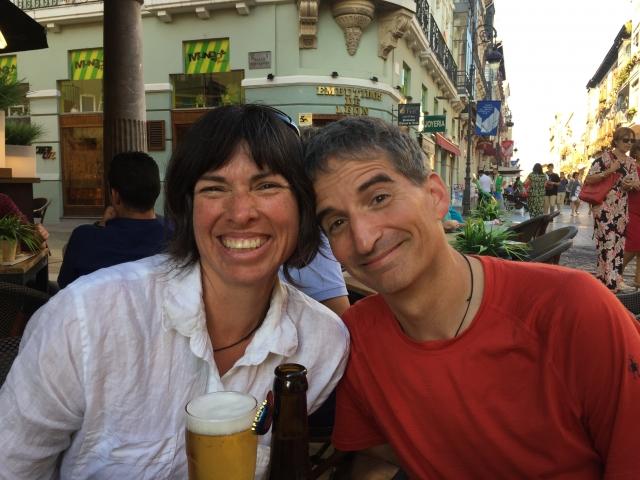 Maria and David