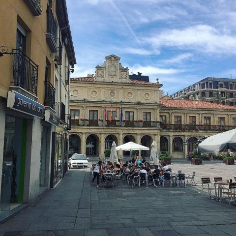 A square in Leon