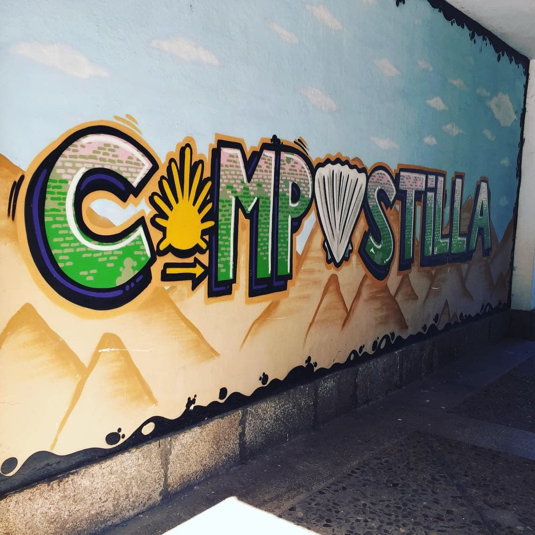 Many signs of the Compostilla