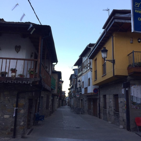 cool little streets in the town we passed through