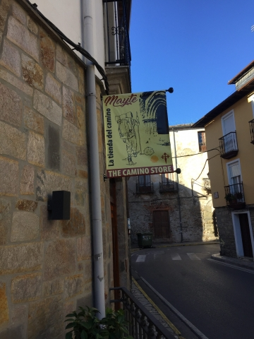 The Camino store in Villfranca