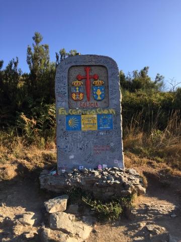 The border of Galicia