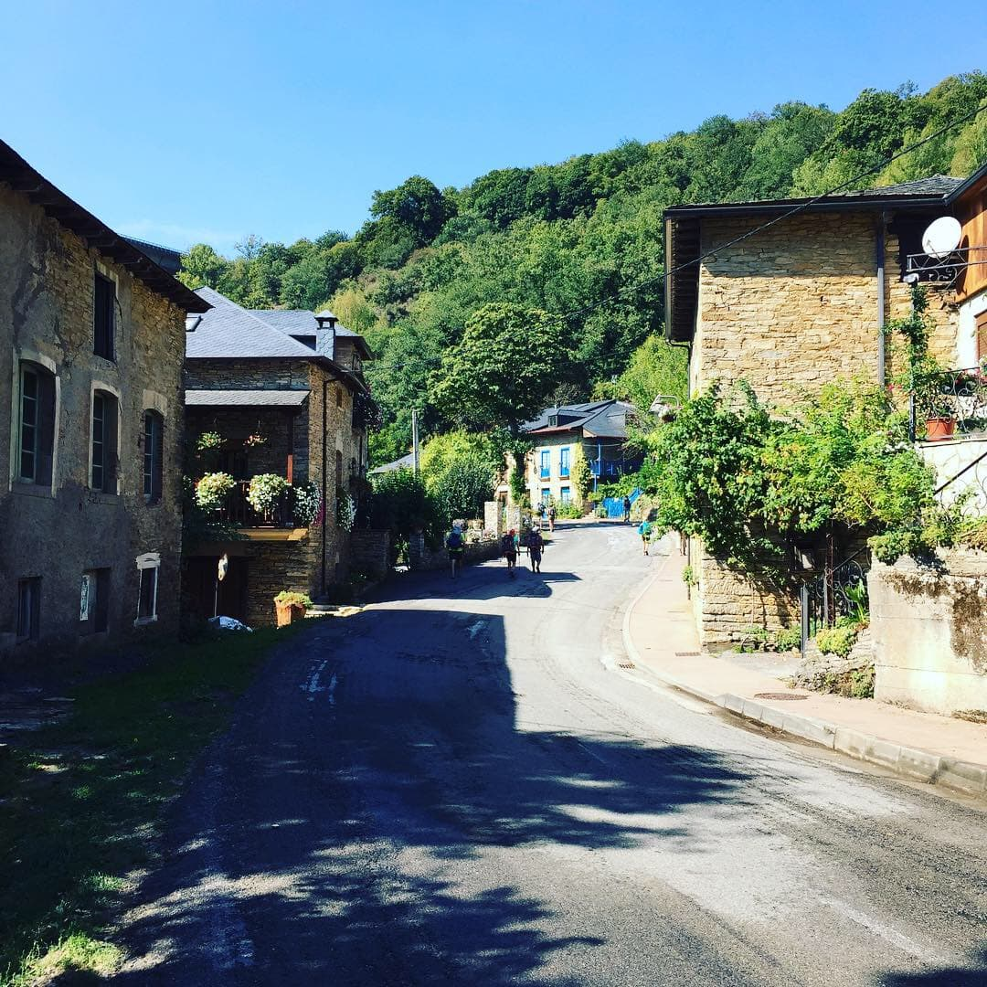 Walking the beautiful streets of the camino