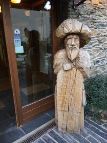 Wooden Saint