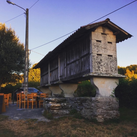 Corn building - horreo
