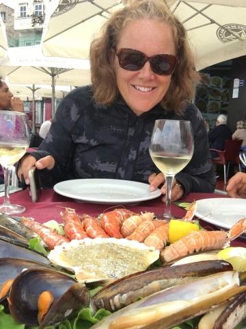 Seafood feast!