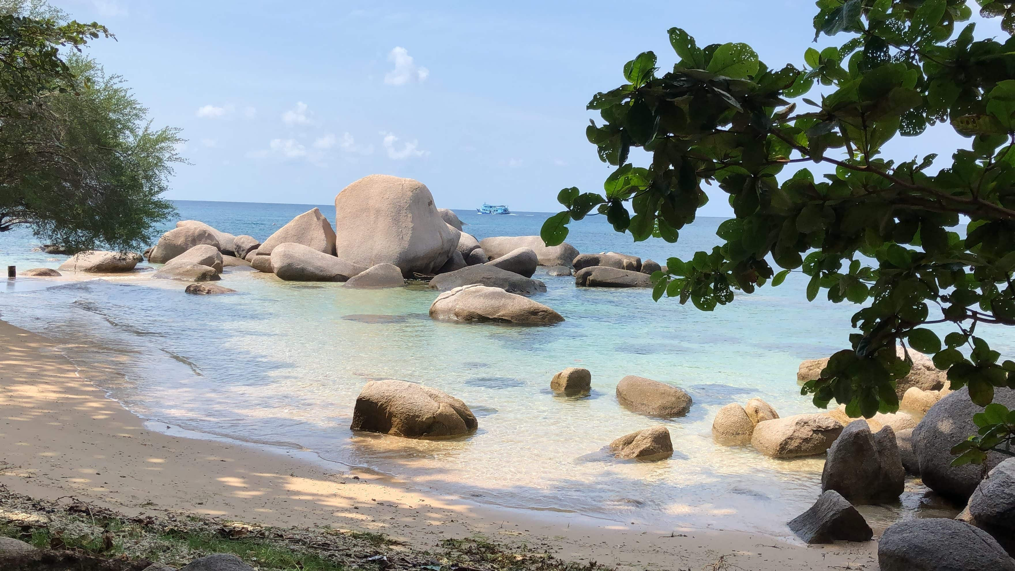 Beautiful beaches of Koh Tao
