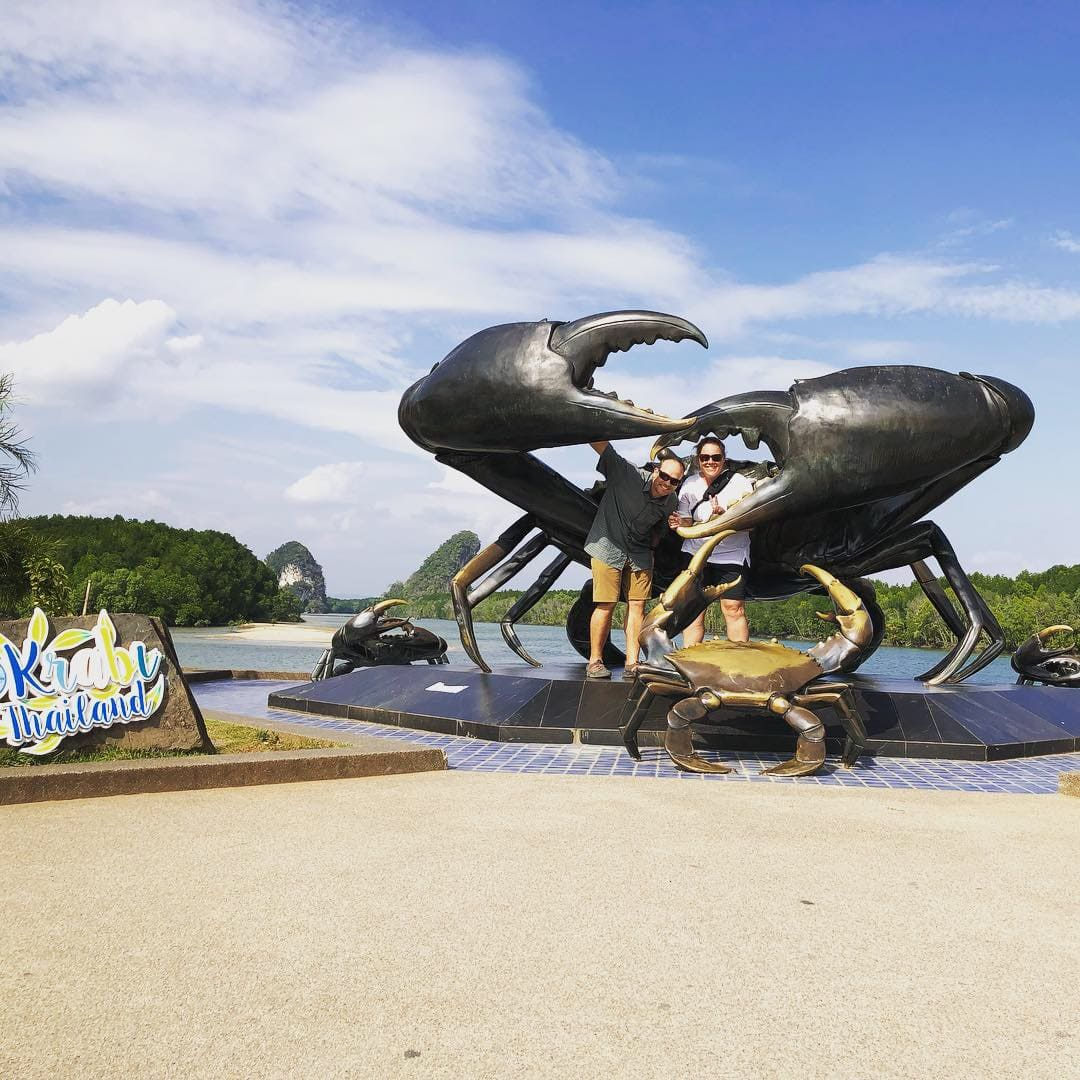 The Crab in Krabi