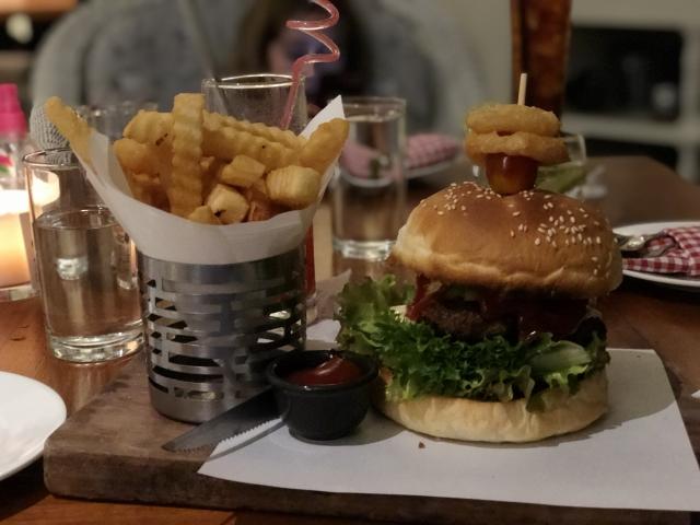 Birthday burger!