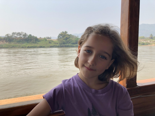 Vivi on the Mekong