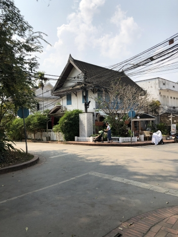 Streets and wires of Luang Prabang
