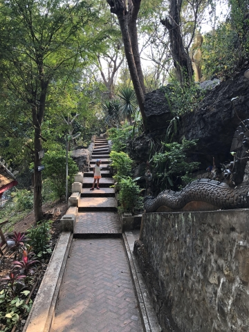 Stairs to the top