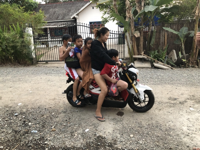 How many people can you fit on a scooter?