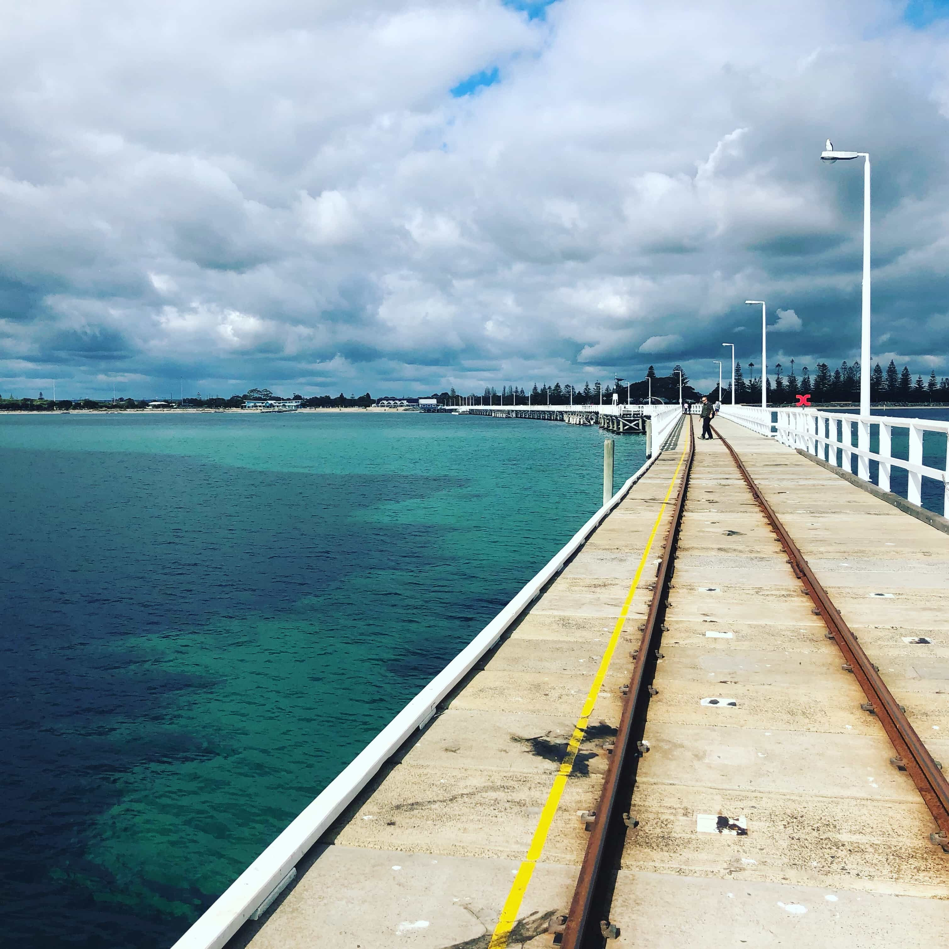 The longest jetty in the southern hemisphere