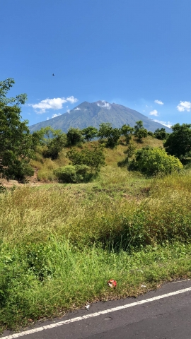 The active volcano