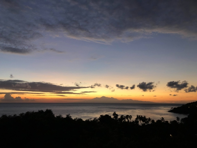 Sunrise over Lombok