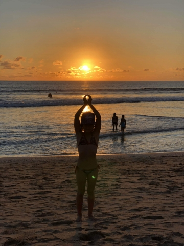 Sunset Kuta Beach