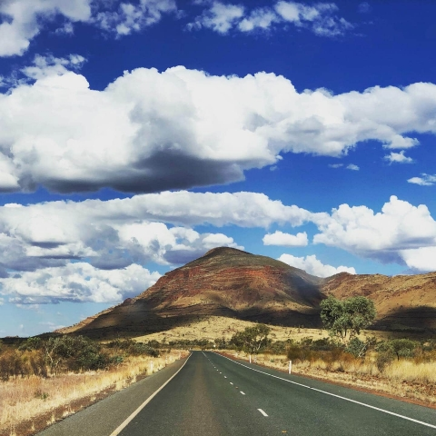 On the road to Karijini National Park