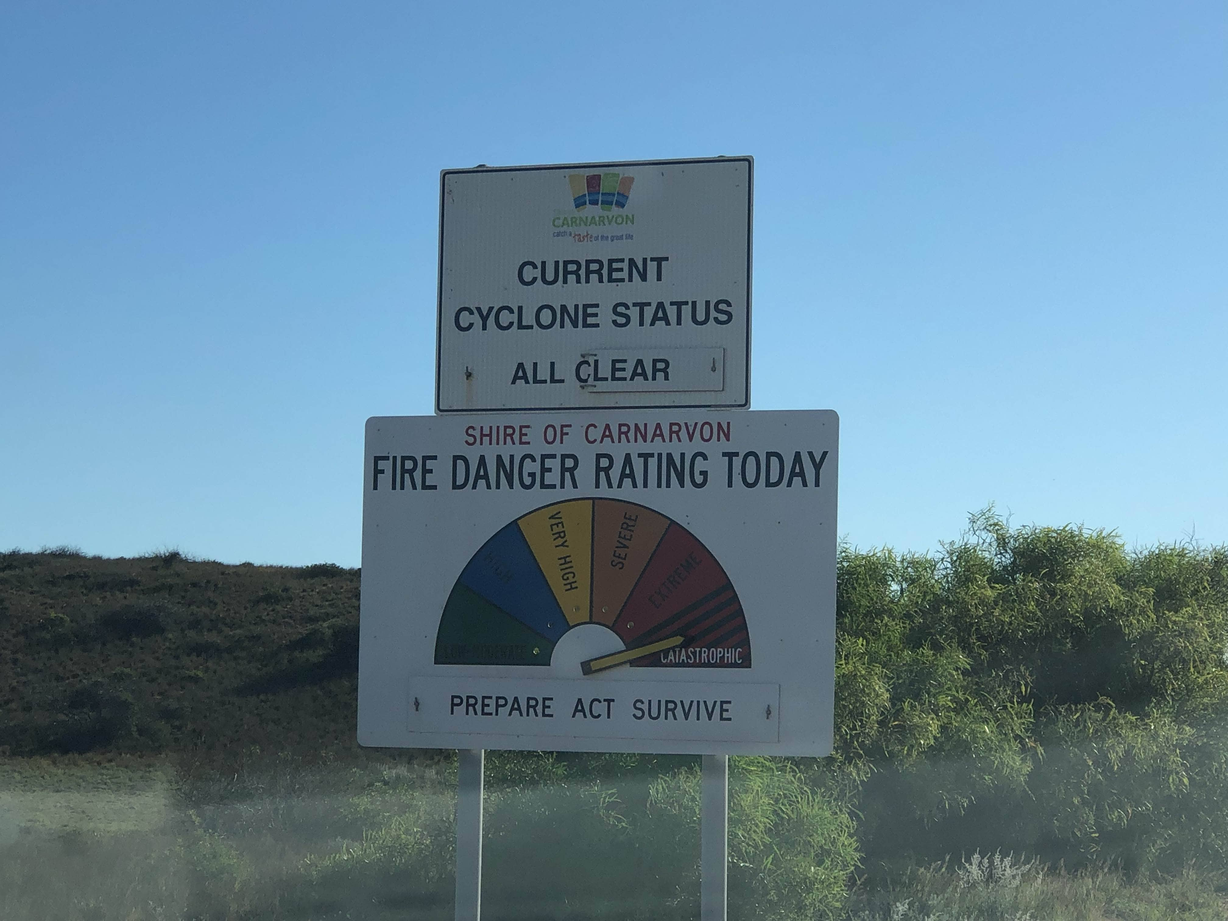 Catastrophic fire rating