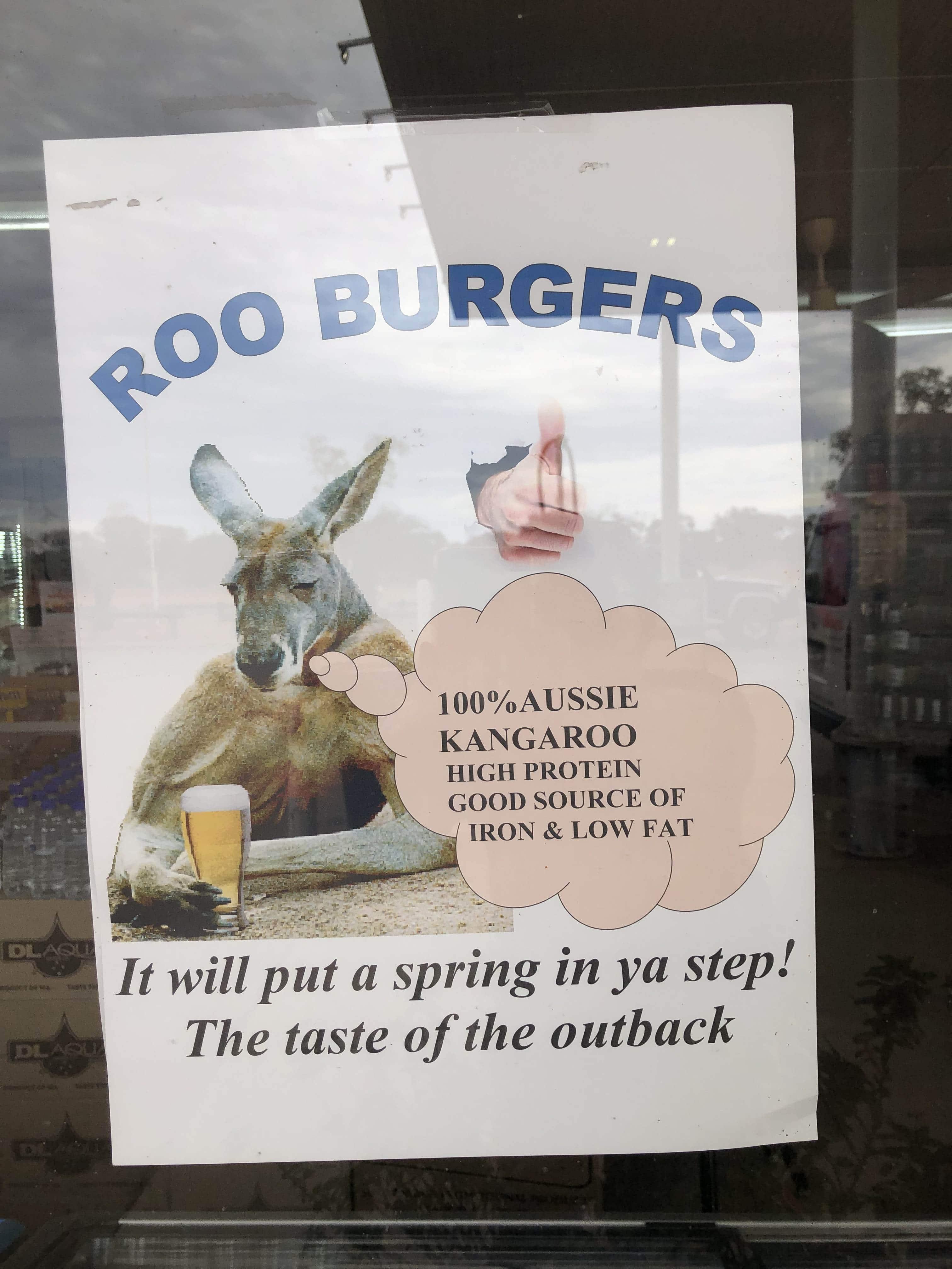 Roo burgers!