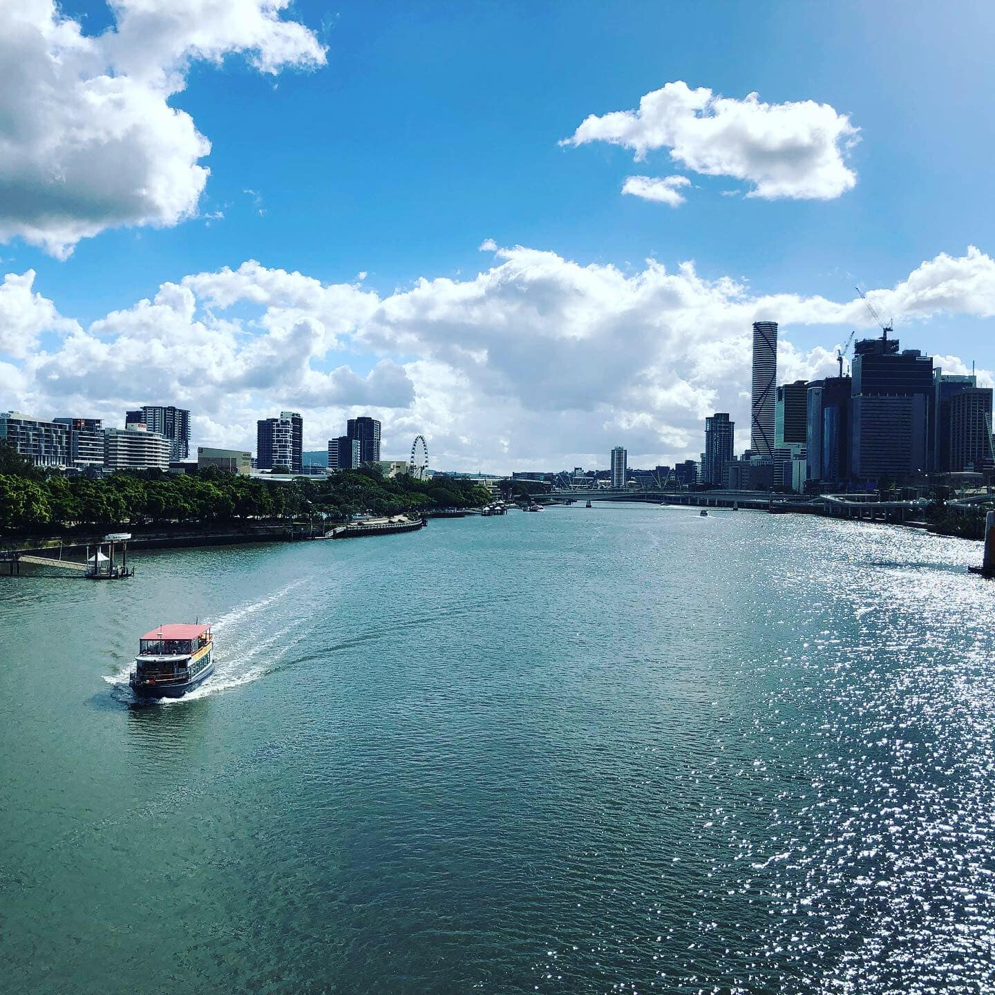 View of Brisbane harbour