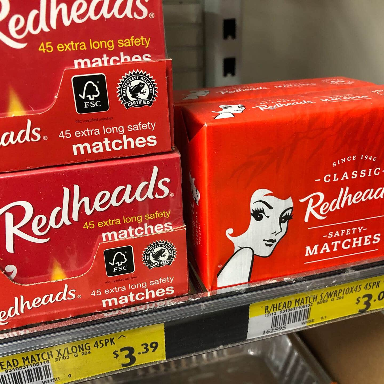 redhead matches