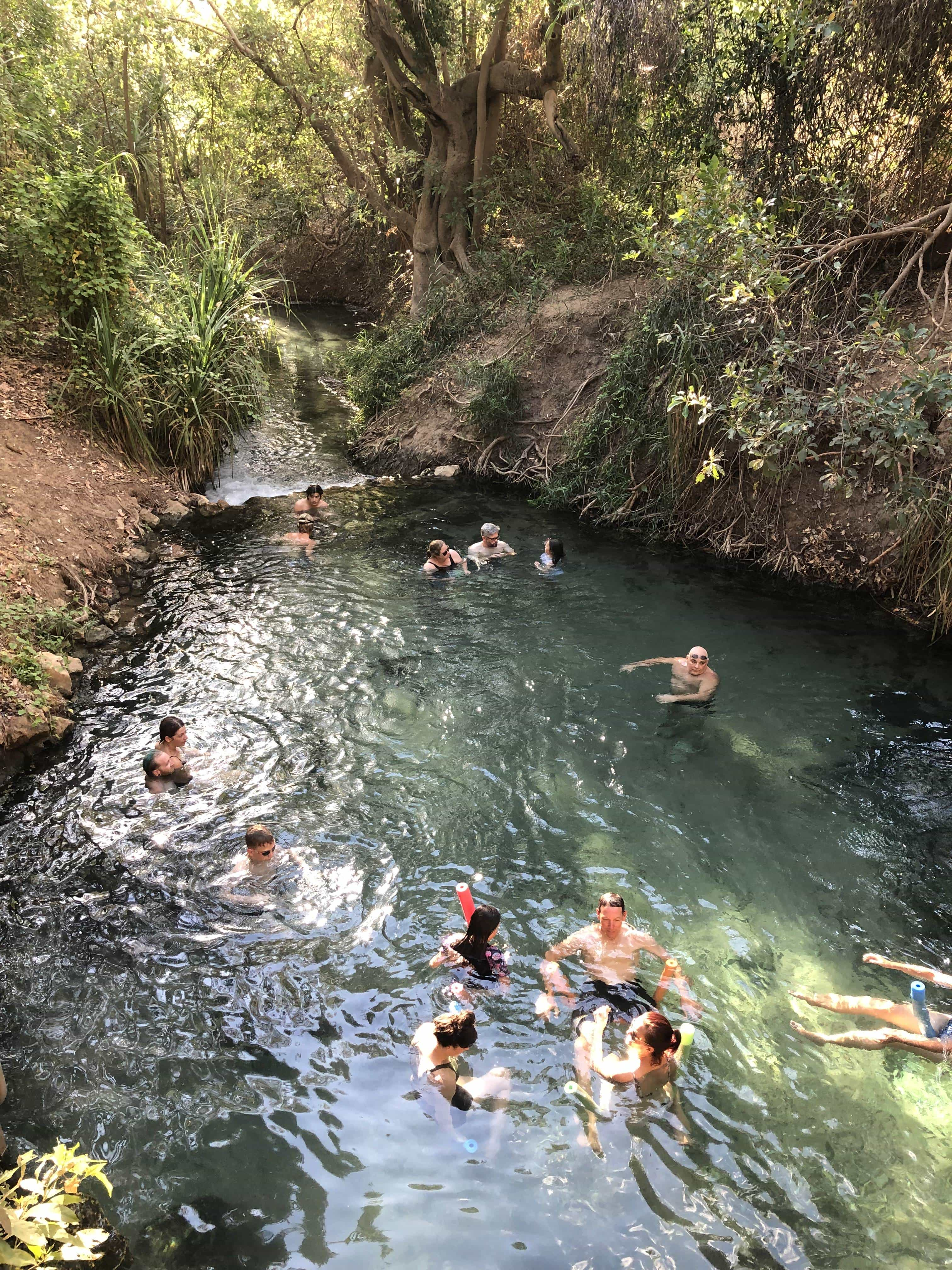 Hot Springs at Katherine