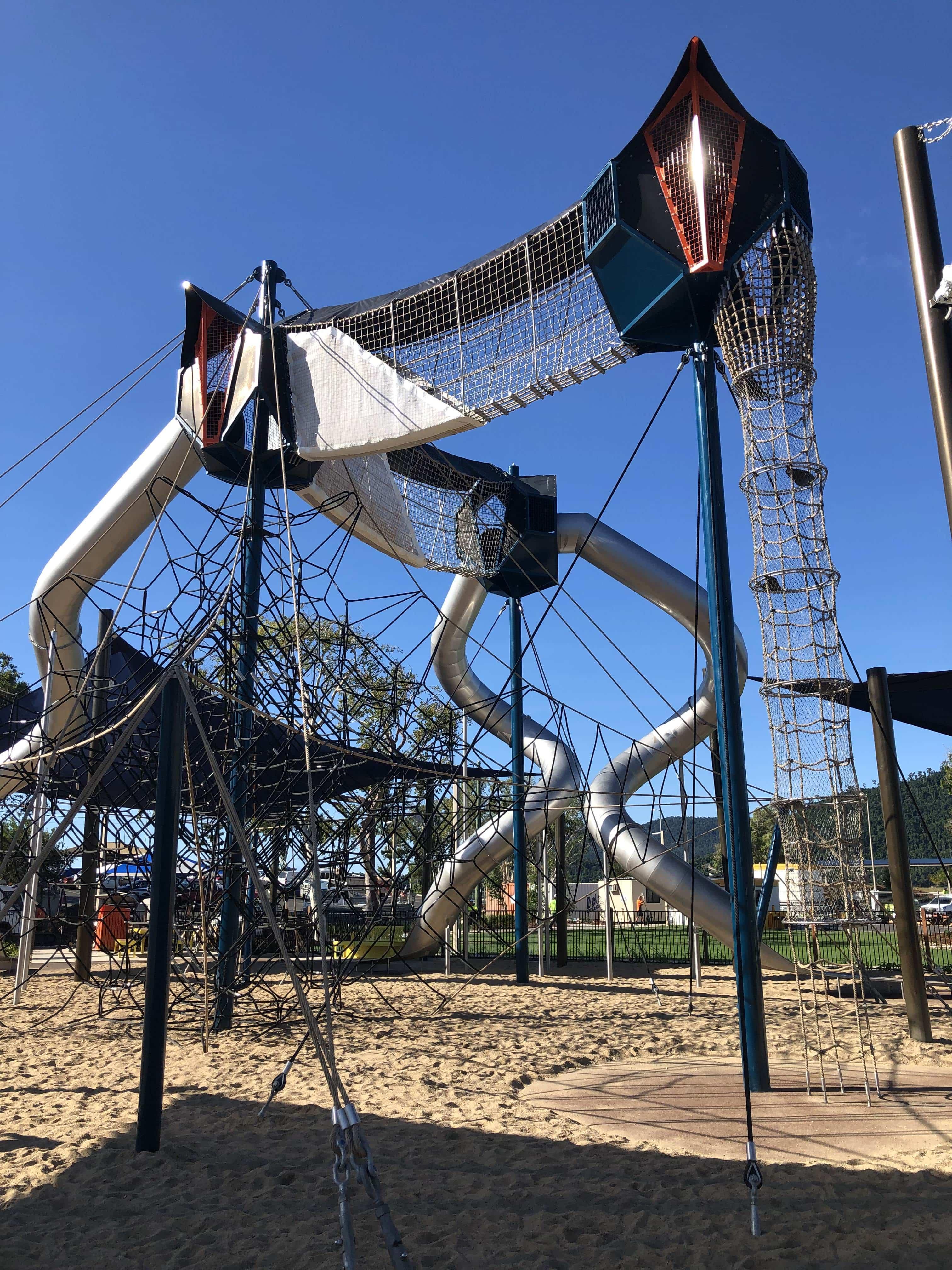 playground at Airlie Beach
